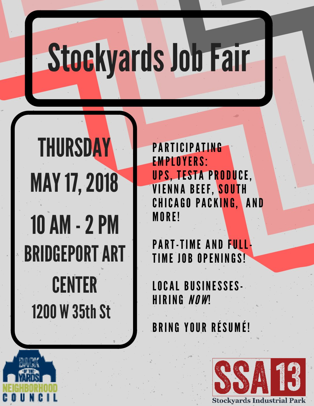 Stockyards Job Fair (SSA #13)