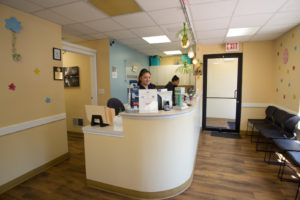 Forever Dental Reception Area