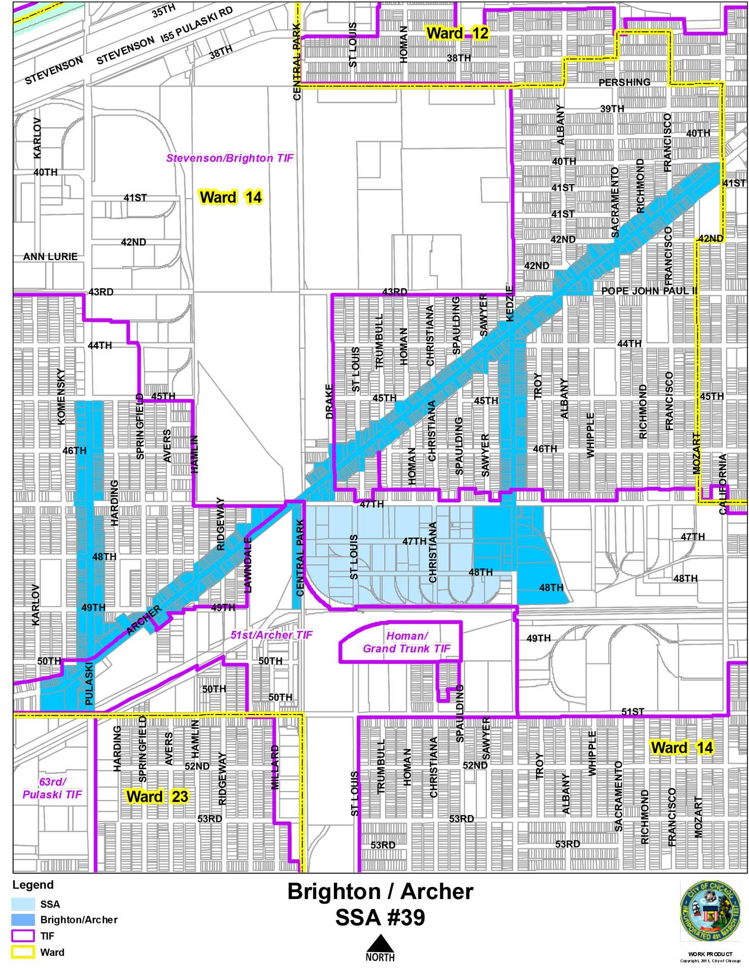 SSA 39 Brighton | Archer Map
